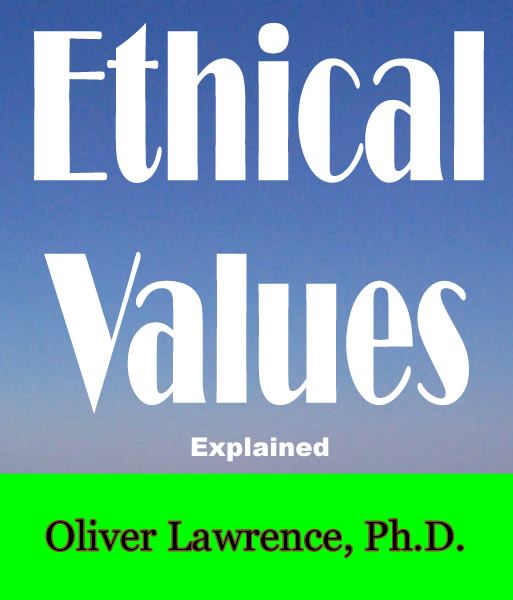 Ethical Values by Oliver Lawrence