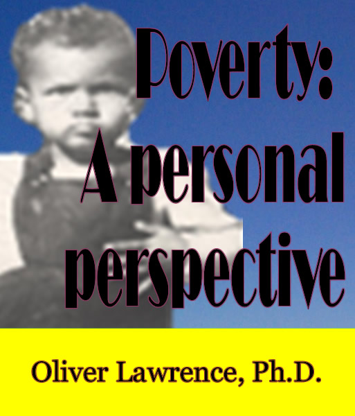 Poverty: A Personal Perspective by Oliver Lawrence